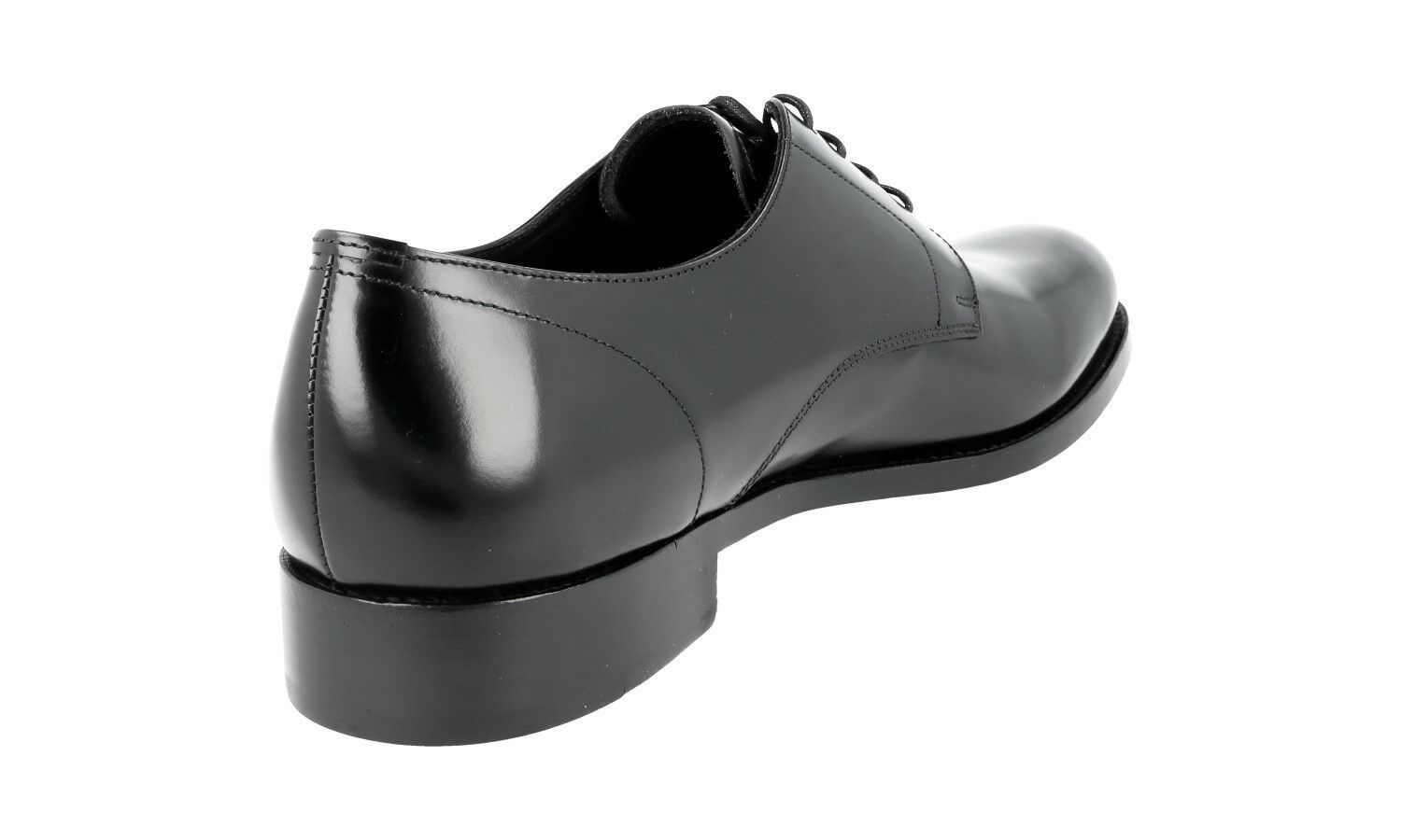 LUXUS PRADA BUSINESS 9 DERBY SCHUHE 2EB116 SCHWARZ NEU NEW 9 BUSINESS 43 43,5 f25617