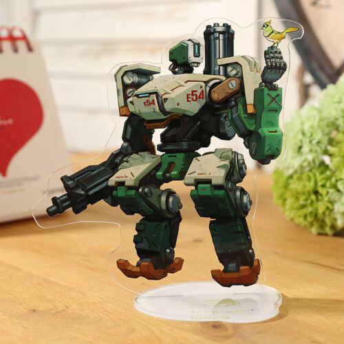 Acrylic Stand Figure Cosplay Bastion Licensing Cartoon Overwatch Game Panel New