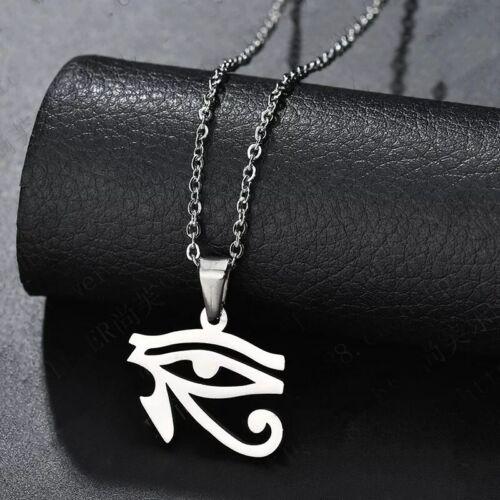 Fashion  Magic eye  Silver 316L Stainless Steel Titanium Pendant Necklace G32