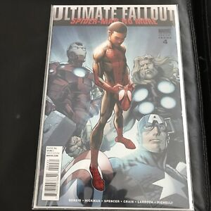ULTIMATE-FALLOUT-4-NM-1st-MILES-MORALES-2011-2nd-PRINT-VARIANT-MARVEL