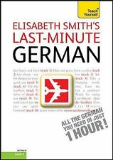 Last-Minute German with Audio CD: A Teach Yourself Guide  TY: Langua . EXLIBRARY