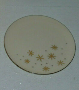 Lenox-Bread-and-Butter-Plate-ALARIS-A501-Mid-Century-Atomic-Starburst-6-25-034