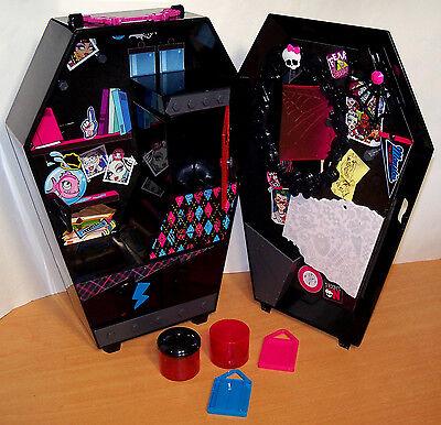 2012 Mattel Monster High Fangtastic Coffin Locker - VGC