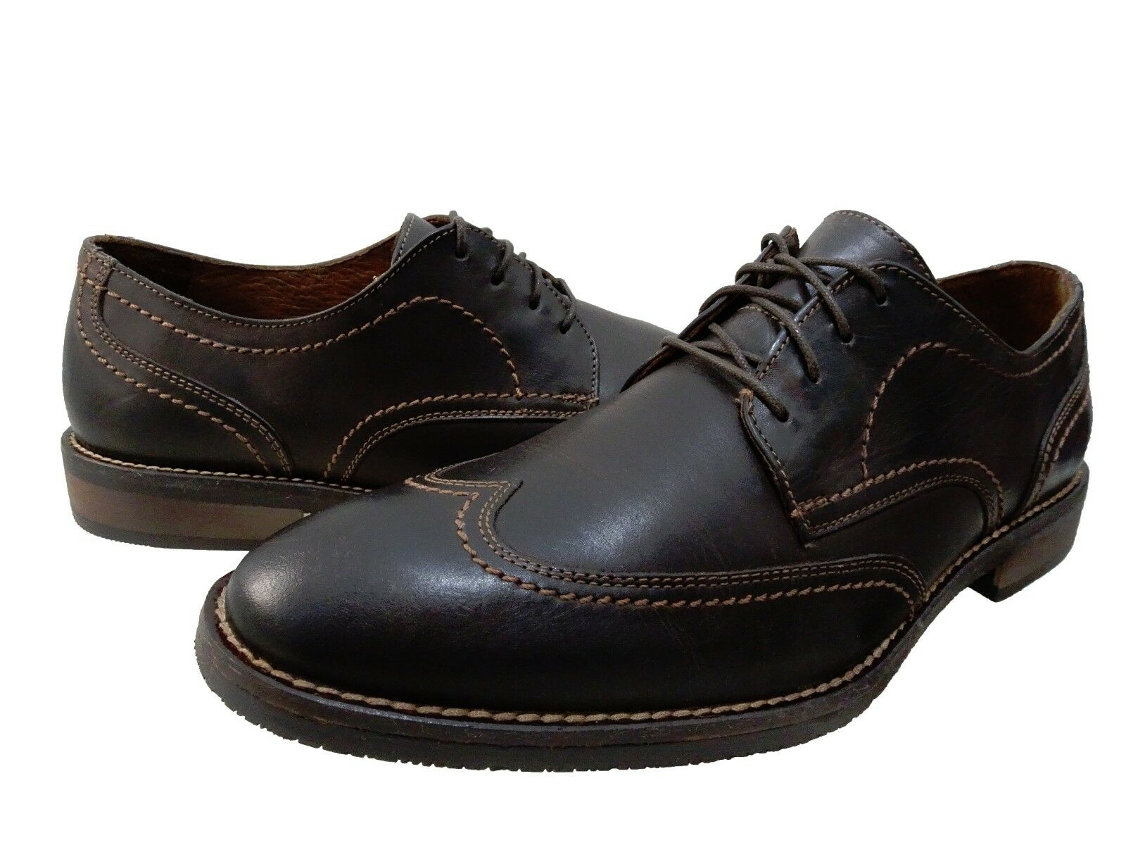 Scarpe casual da uomo  Johnston & Murphy uomos Jarrell Wingtip Lace Up Derby Business Casual Dress Shoes