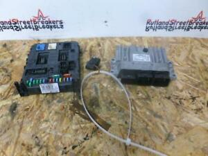 Details about PEUGEOT 3008 COMPLETE ECU KIT WITH KEY 9666912580 967847688001