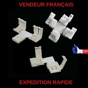 CONNECTEUR-RUBAN-LED-2835-3528-8mm-2-PINS-SANS-SOUDURE-FORME-L-T-OU-X-AU-CHOIX