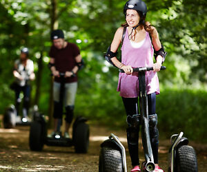 Segway Rally for Two People - One Hour of Segway Weekends or Weekdays - SAVE £10