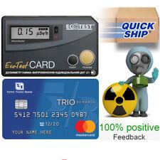 Dosimeter Dkg 21 Ecotest Card Gamma Radiometer Geiger Counter Radiation Detector
