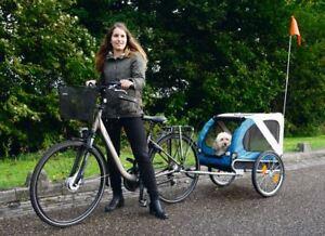 barino hundeanh nger fahrrad anh nger f r den hund. Black Bedroom Furniture Sets. Home Design Ideas