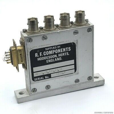 COAXIAL SWITCH RELAY 1 TO 3 BNC RF COMPONENTS A4003.01.12D.82.04