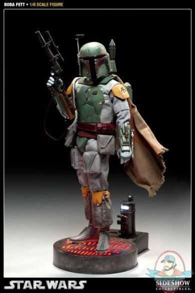 Star Wars Sideshow Collectibles Boba Fett  12  New