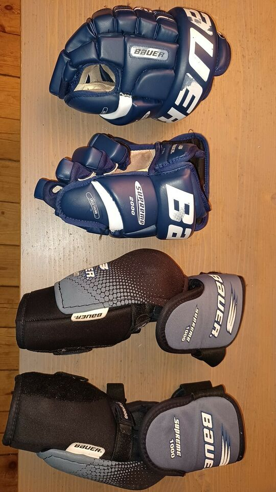Ishockeyudstyr, Bauer,CCM;Jofa;Salming, str. medium