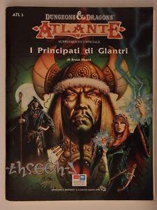 D & D - I Principati Di Glantri Rare Atlante Ita Gdr