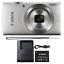 Canon-Ixus-185-Elph-180-20MP-Digital-Camera-8x-Optical-Zoom-Silver thumbnail 1