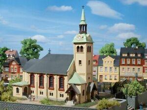 Auhagen-12229-Kirche-Boernichen-in-H0-TT-Bausatz-Fabrikneu