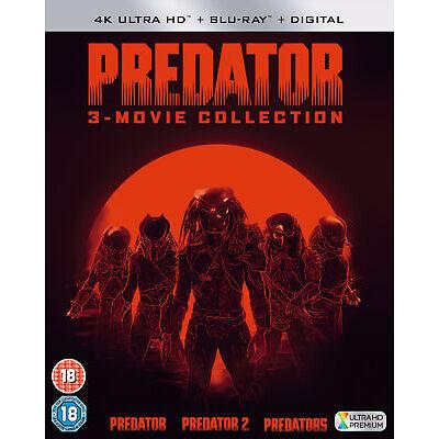 Predator Trilogy [2018] (4K Ultra HD) Predator / Predator 2 / Predators