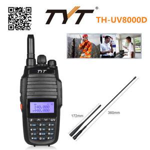 Dual Display TYT TH-UV8000D CTCSS 3600mAh 2xBand U//V Ham Radio Walkie Talkies