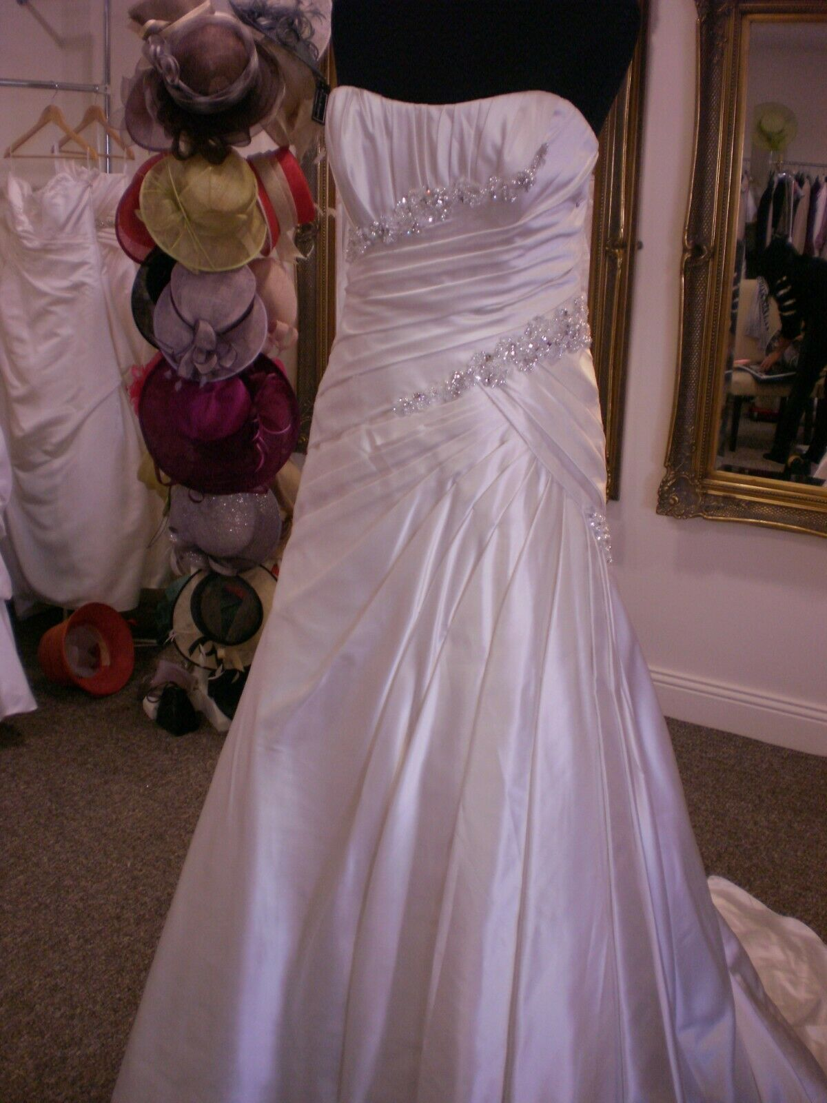 Wedding Dress by Maggi Sottero :size UK 10