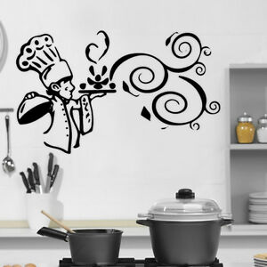Image Is Loading Kitchen Cook Food Quote Wall Stickers Art Dining