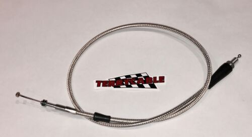 Yamaha Raptor 660 660R TerryCable Steel Braided Thumb Throttle Cable Terry 01-05