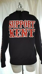 Black Forever Hoodie Jumper Big Red Machine 81 Hells Angels Support Kent