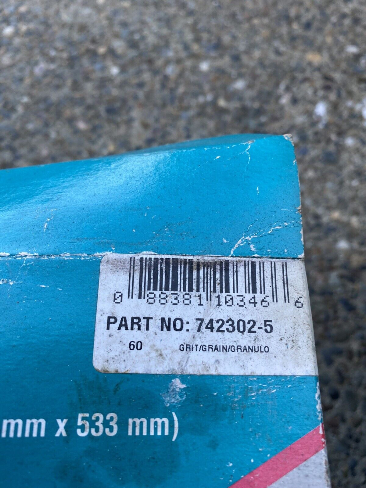 """Makita 4-1//2/"""" x 7//8/""""  36 Grit Sanding Disks 794105 10 PC For ALL 4 1//2 GRINDERS"""