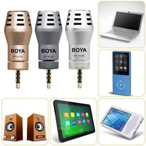 Omni-Directional-Condenser-BY-A100-Microphone-Mic-For-iPhone-7-8-X-Android-LOT