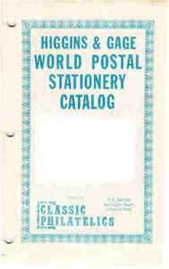 CANADA-HIGGINS-and-GAGE-SPECIALISED-POSTAL-STATIONERY-CATALOGUE