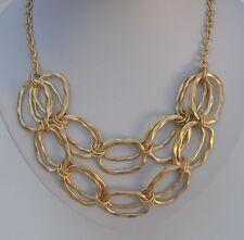 Halskette - Collier - goldfarbig - 56 cm lang - NEU!