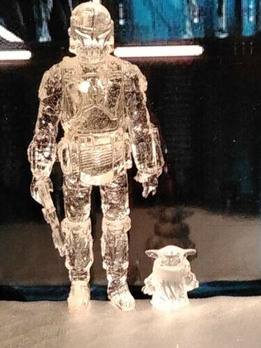 Star Wars Mandolorian and The Child Custom 3.75 Vintage Kenner Style Figure set!