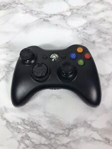 Microsoft-Xbox-360-Black-Wireless-Controller