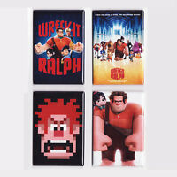 Wreck It Ralph Movie Poster Magnets (toy Game Shirt Plush Doll Figure Print)