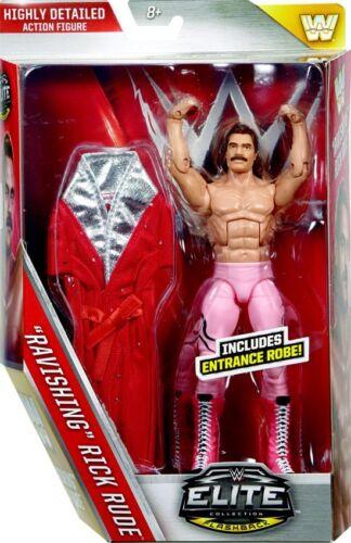 entrée Robe WWE Wrestling Elite Series 40 RAVISSANTE Rick Rude Figure Action