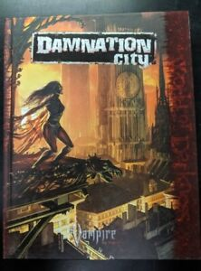 1x-Damnation-City-Used-Fine-Vampire-The-Requiem-RPG