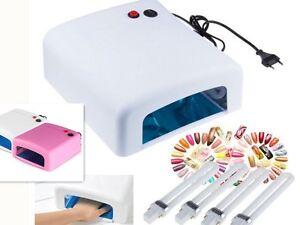 1 Lampara 36W Ultravioleta UV Secador Uñas para Manicura Gel Esmalte Permanente