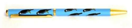 Kestrel Hawk Ball Point Pen Black Ink Retractable British Countryside Bird  201