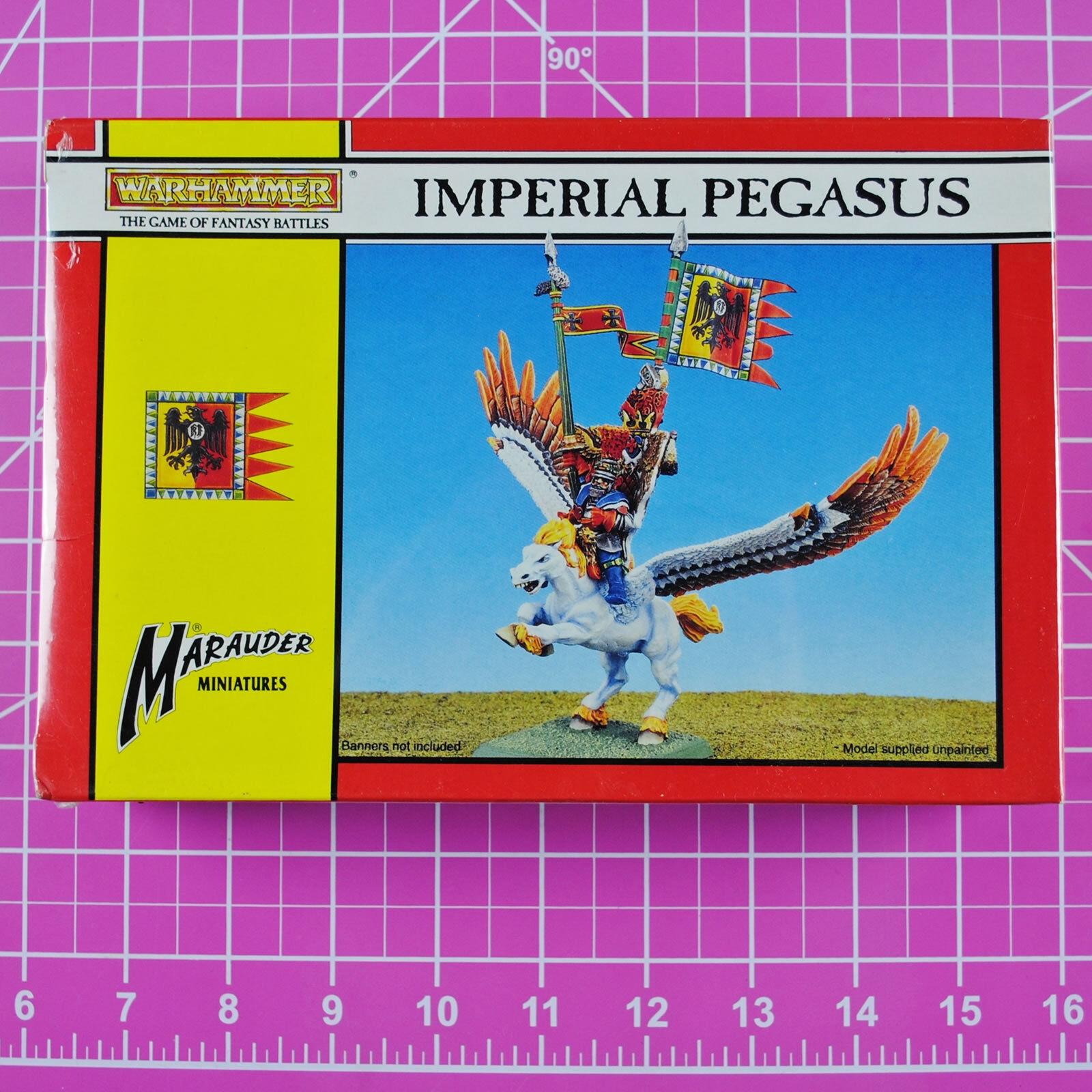 Warhammer Marauder Imperial Pegasus NIB Metal - Rare & OOP - Citadel Empire Hero