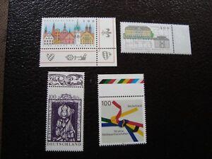 Germany-Stamp-Yvert-Tellier-N-1742-1745-46-1749-N-MNH-CAM1
