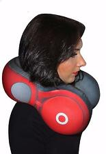 Large Red Headphones Travel Cushion in Style oft Plush Neck Pillow