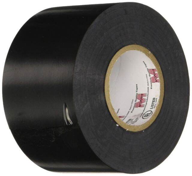 Morris Products 60202 Premium Grade Electrical Tape 2 In.x60 Ftx8.5 Mil Black