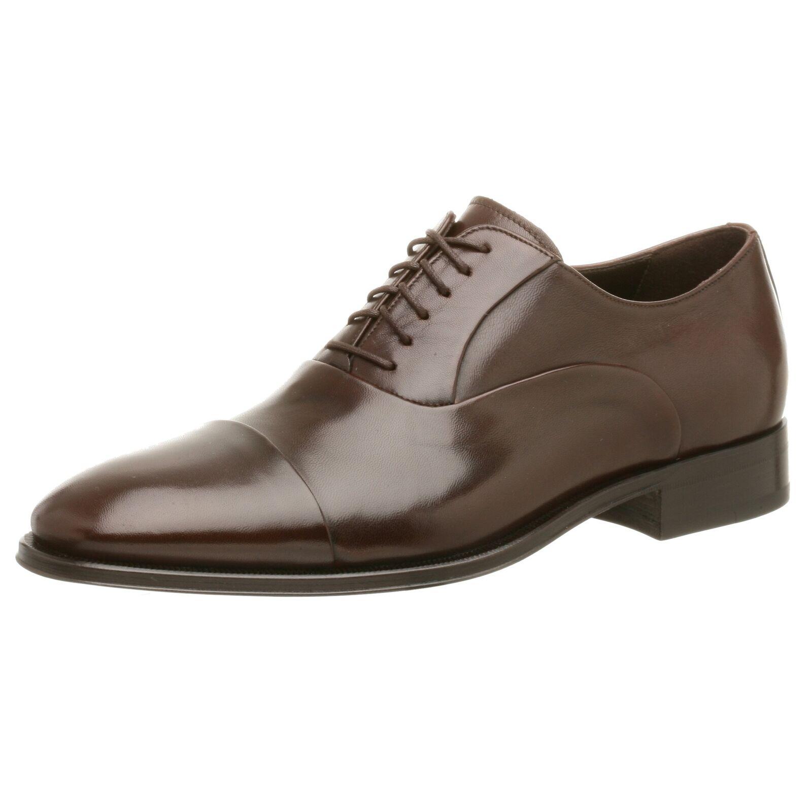 BcourirO MAGLI Maioco en Cuir Premium Chaussures Hommes Bcourir Foncé