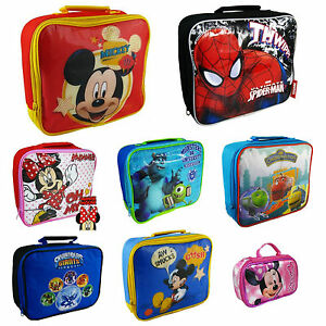 Disney Branded Pack Lunch School Snack Bag Minnie Mickey Mouse
