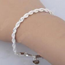 Damen Versilbert Armreif Armband Cuff Elements Bracelet Schmuck Mode