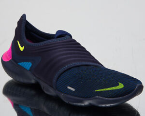 Details about Nike Free RN Flyknit 3.0 Mens Midnight Navy Sneakers Running Shoes AQ5707 400