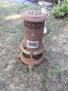 Kerosene Oil Heater Antique Heat Lamp