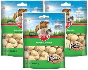 3-Pack-Kaytee-Fiesta-Krunch-A-Rounds-Sesame-Peanut-Treats-3-oz-Each