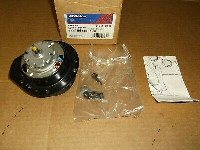 AC Delco Fan Motor Driver or Passenger Side New for Chevy Olds Cutlass 15-8490