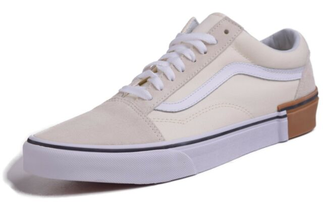 34728a844d VANS Old Skool Gum Block Classic White Men s Skate Shoes Size 10 for ...