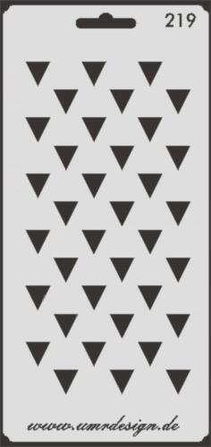 Scrapbooking galería de símbolos s-219 flechas ~ stencil ~ Conv-Design