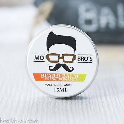 Mo Bro's - Orange Bergamot Beard Conditioning Balm 15ml Made In England